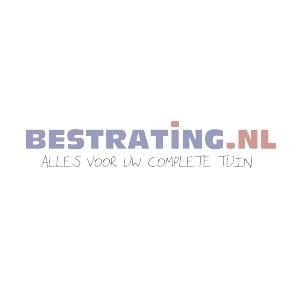 Oud Hollands Zitelement Rond 60 x 40 cm Carbon